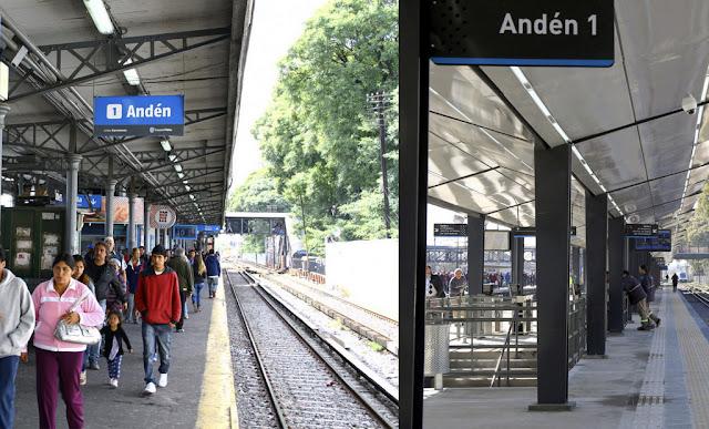 Finalizaron las obras de reconstrucción en la estación de Liniers