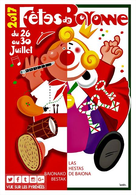 Les Fêtes de Bayonne 2017 samedi 29 juillet  la journée des traditions
