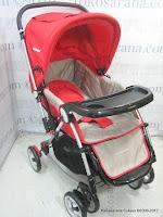 1 Kereta Bayi BabyDoes CH362 Crusader dengan 3 Layer Canopy