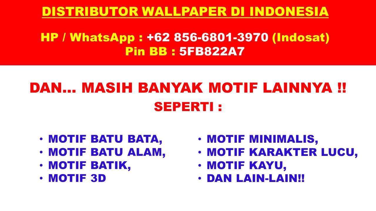 0856 6801 3970 Isat Alamat Toko Wallpaper Dinding Di Banda Aceh Sticker Motif Batu Bata Jual