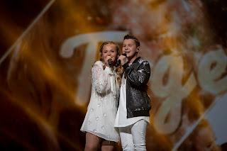 Max & Anne worden dertiende op het Junior Eurovisie Songfestival