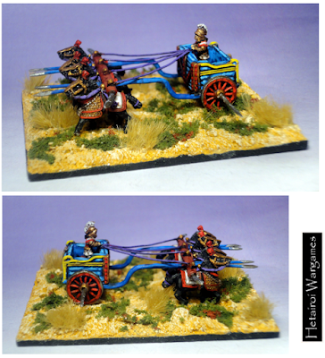 2nd place: Seleucid Scythed Chariot, by Hetairoi - wins £10 Pendraken credit!