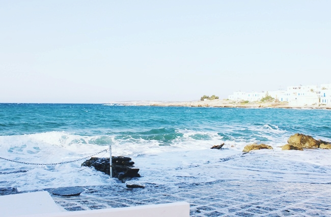 Ostrvo Paros,ribarsko selo Naoussa