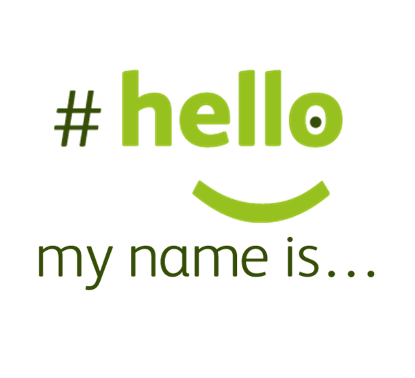 it is as simple as saying hello my name is pallimed