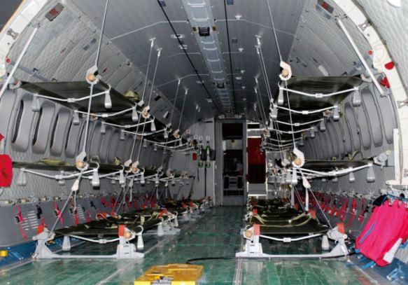 Airbus C295 cabin