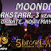 Darkstarr Moondial, 3 Years Ago & Ornate Moondial, Now (May 2017)