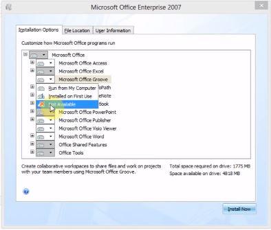 Download và hướng dẫn cài đặt Microsoft Office 2007 full
