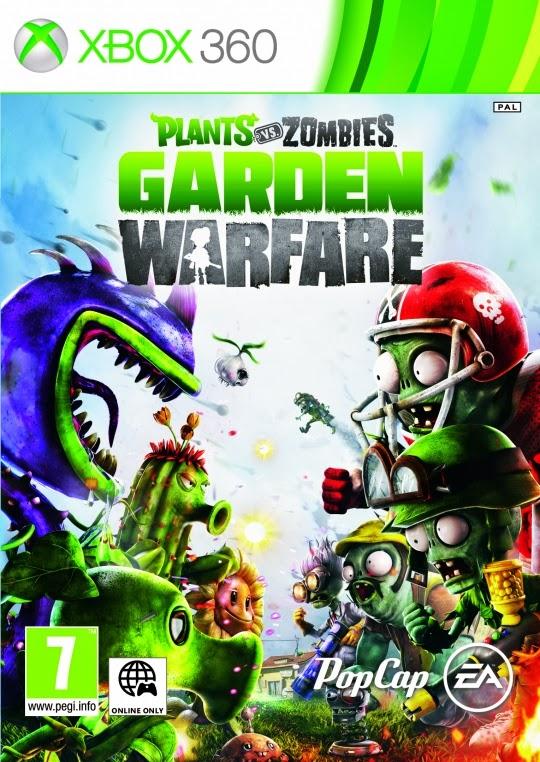 Plants VS Zombies Garden Warfare XBOX 360 ESPAÑOL