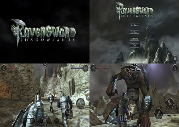 Free Android Games obb+apk: Ravensword: Shadowlands Apk+Obb