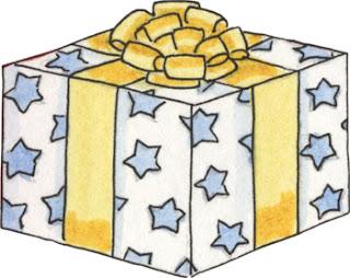 Caja de regalo de cumpleaños