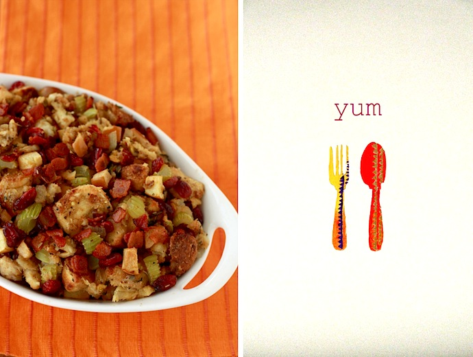 Thanksgiving or Christmas stuffing recipe