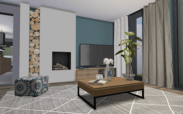 decoration living Sims 4