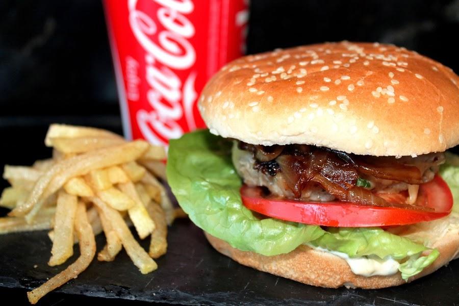 Hamburguesa casera de ternera sin lactosa