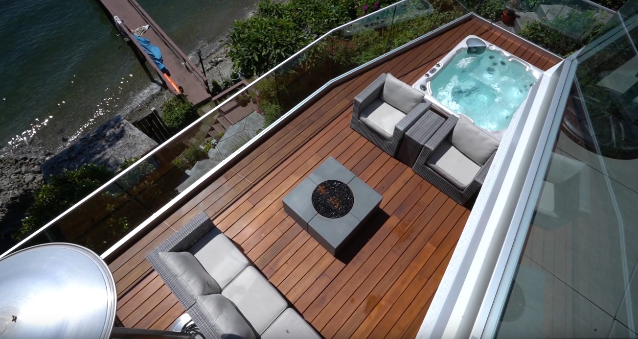 8 Photos vs. MODERN DECK WITH HOT TUB By Stylux Design & Construction Video Tour