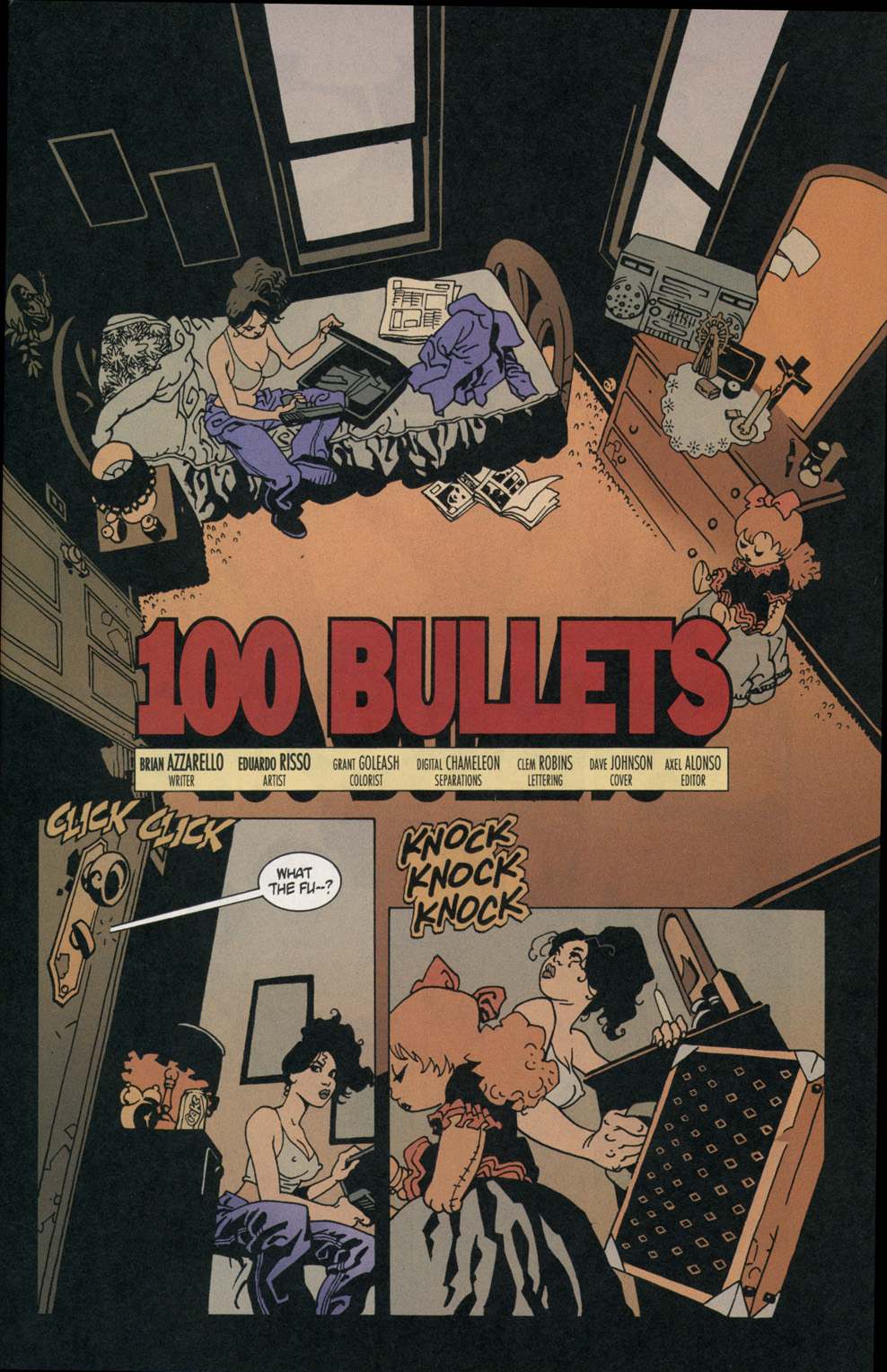 Read online 100 Bullets comic -  Issue #2 - 2