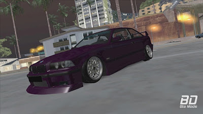 Download mod carro BMW E36 ROXY PORNGARAGE para o jogo GTA San Andreas.