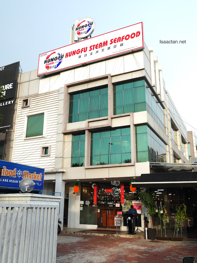 Kungfu Steam Seafood @ Bandar Puteri Puchong