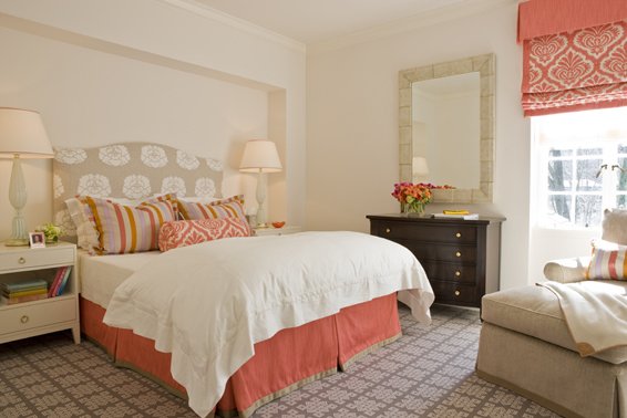 Beyond The Aisle: Summer/fall Color: Coral And Peach In