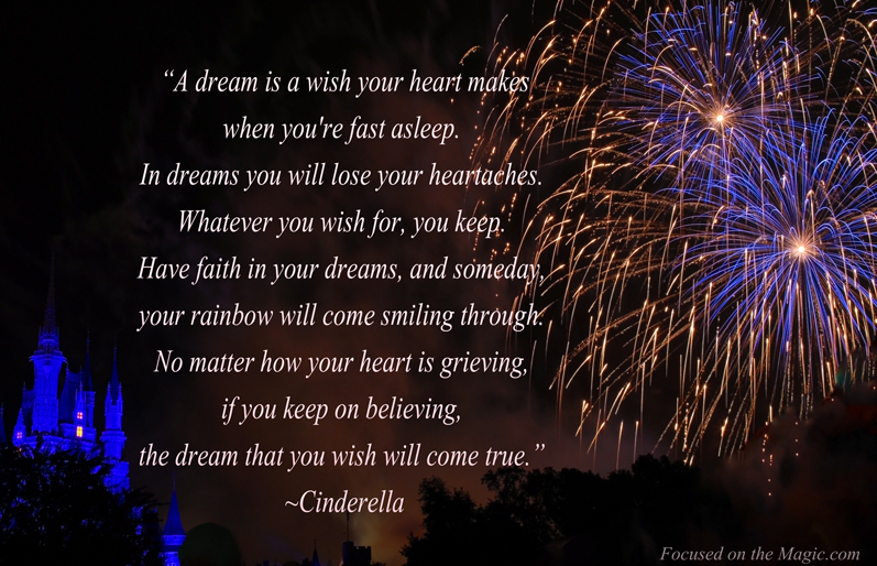 Disney Quote | Focused on the Magic