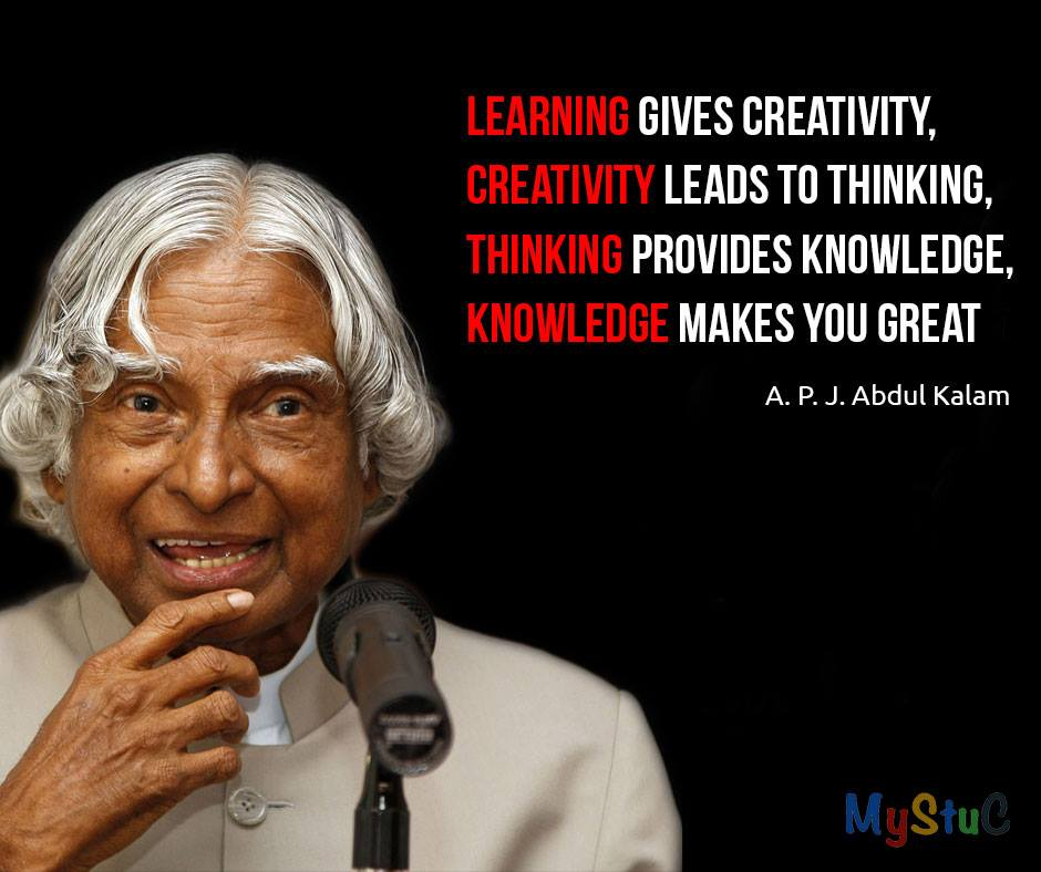 Inspirational Quotes By Apj Abdul Kalam For Students: MySTuC Blog On Blogger: Inspirational Quotes And Thoughts
