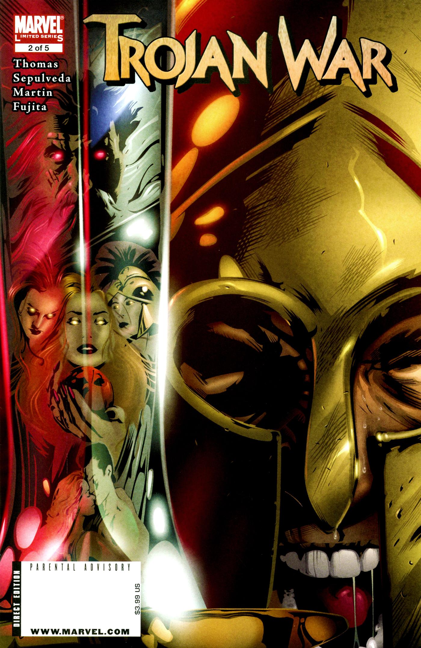 Read online Trojan War comic -  Issue #2 - 1