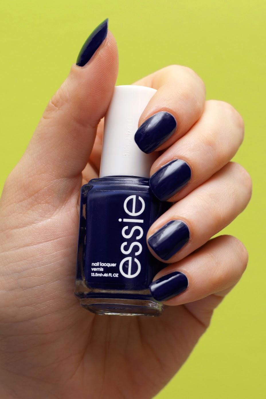 Essie No More Film granatowy Essie navy blue
