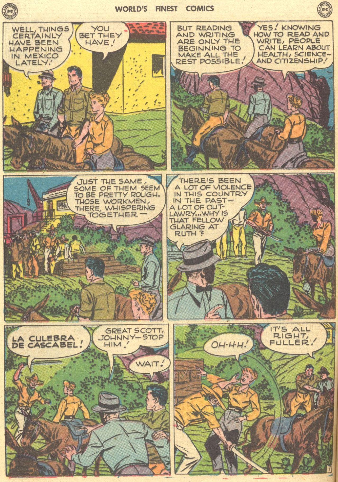 Read online World's Finest Comics comic -  Issue #28 - 57