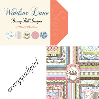 Moda WINDSOR LANE Quilt Fabric by Anne Sutton of Bunny Hill Designs