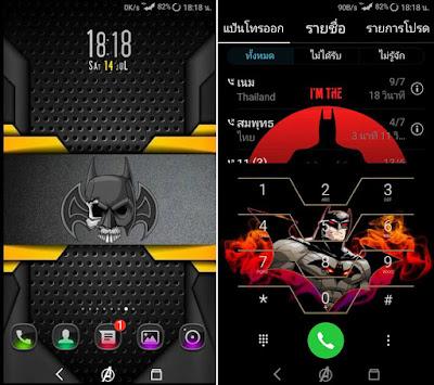 Batman Return Theme For EMUI Huawei Themes hwt
