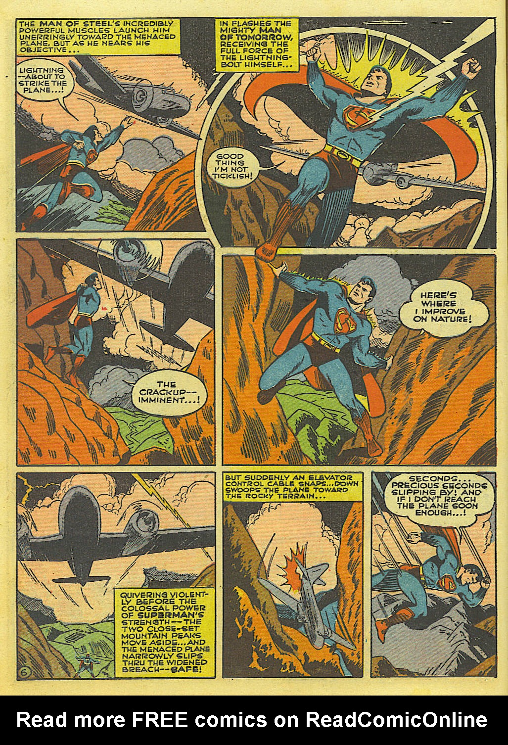 Read online Action Comics (1938) comic -  Issue #52 - 8