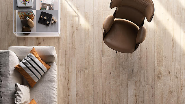 Italian porcelain tile for living room with LEGN collection