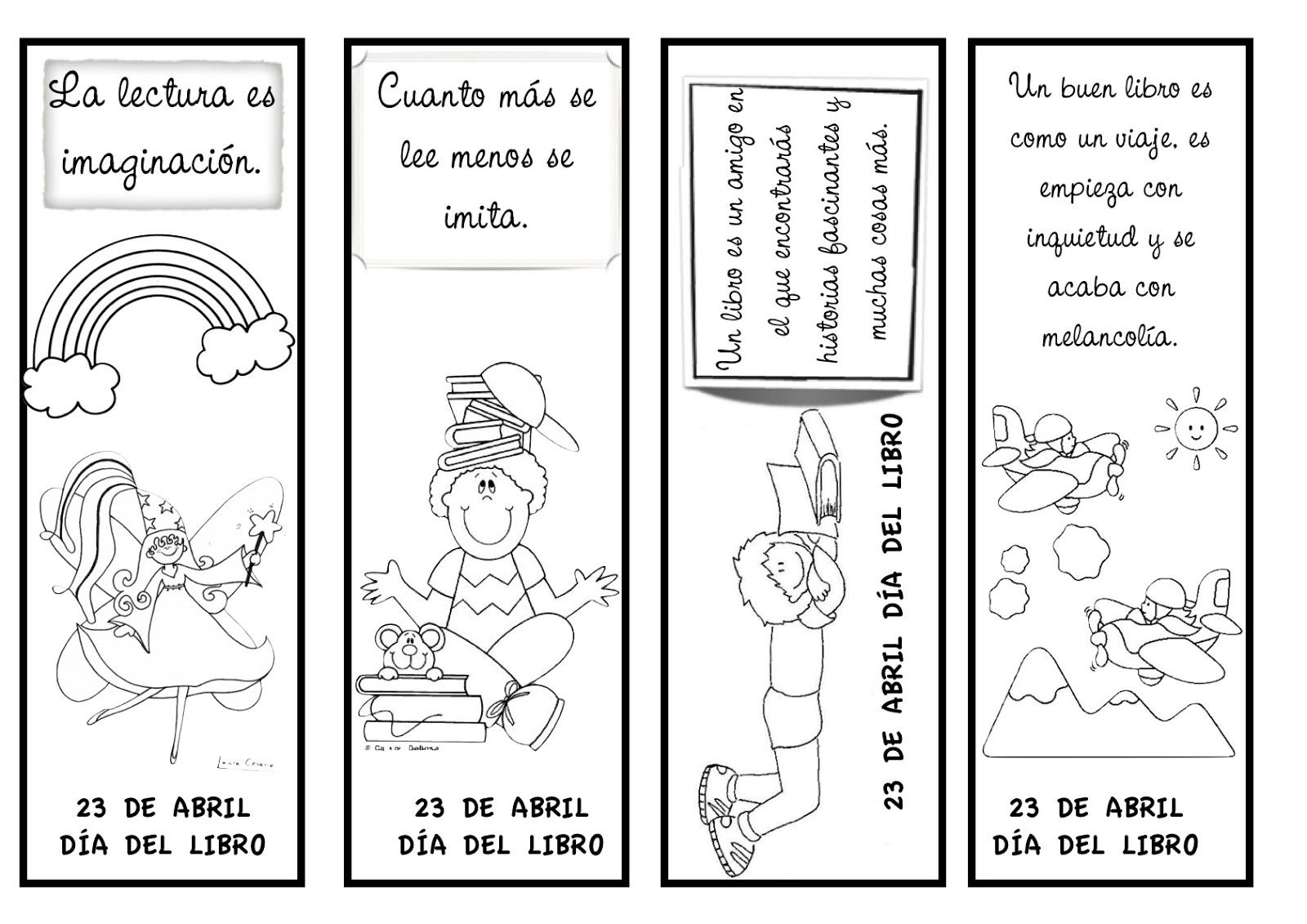 Niño Leyendo Un Libro Colouring Pages Page 2: Día Del Libro