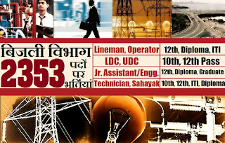 Electricity department recruitment, Government Jobs, Sarkari Naukri