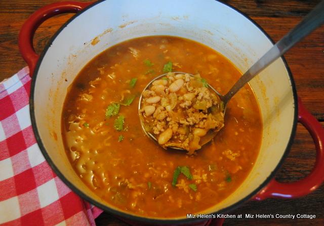 White Bean & Chicken Chili at Miz Helen's Country Cottage