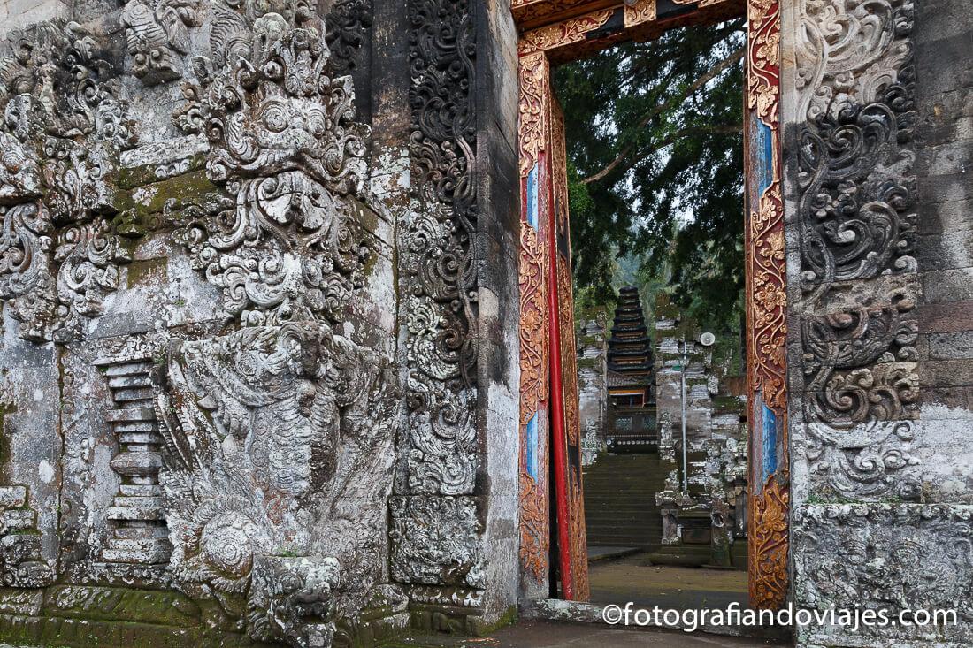 Pura Kehen en Bangli, Bali