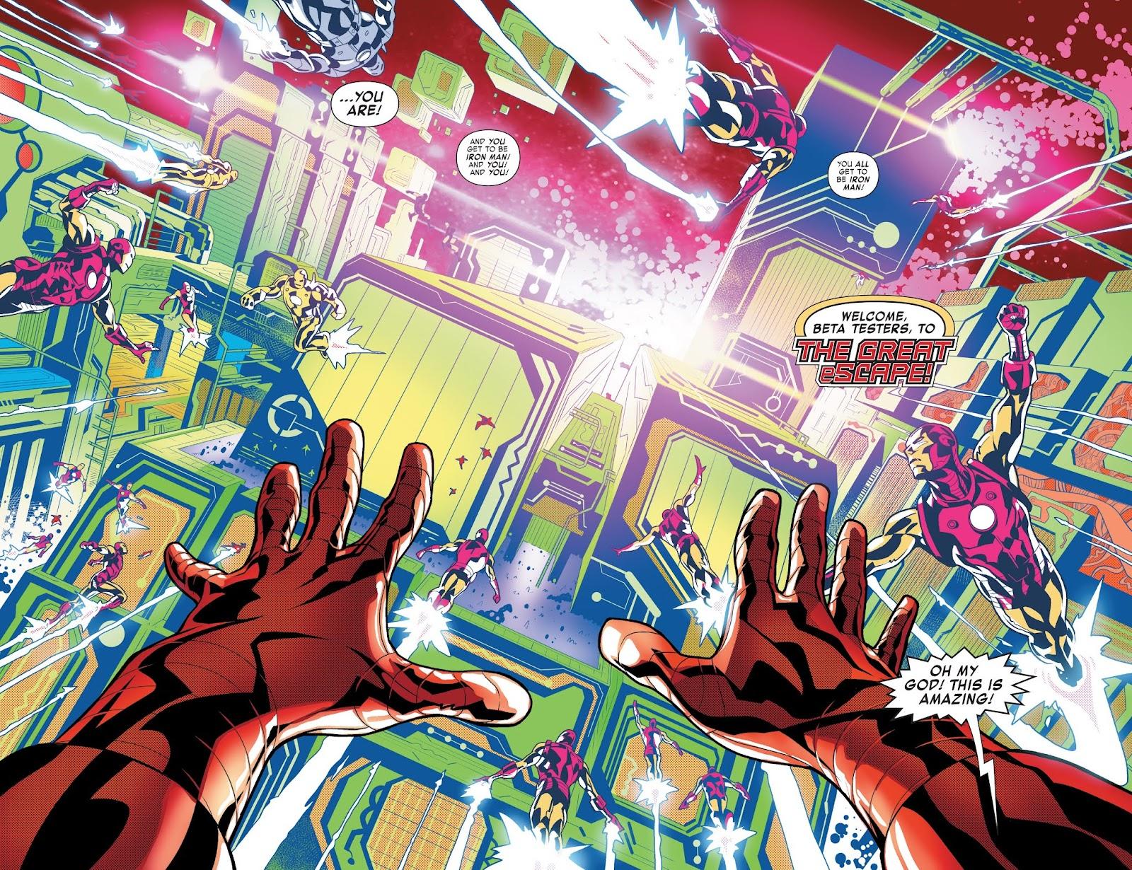 Read online Tony Stark: Iron Man comic -  Issue #3 - 4