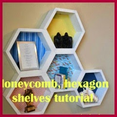 ESTANTERIAS HEXAGONALES DIY