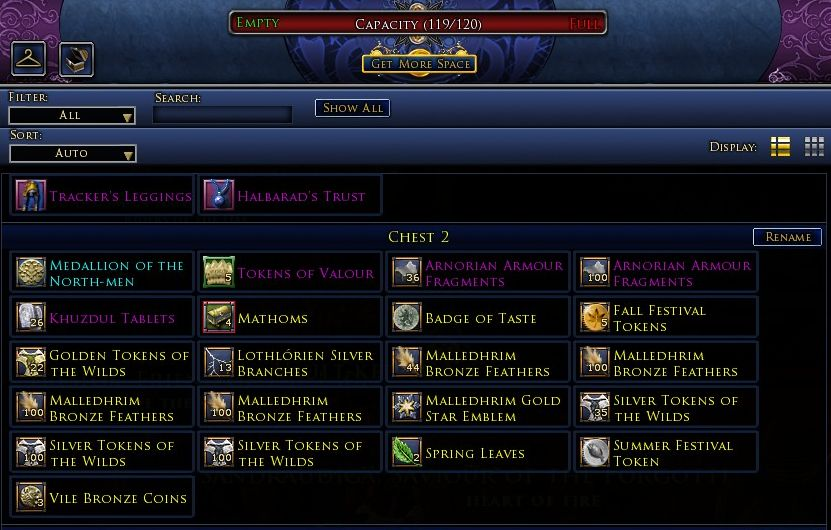 Lotro Selling Crafting Items