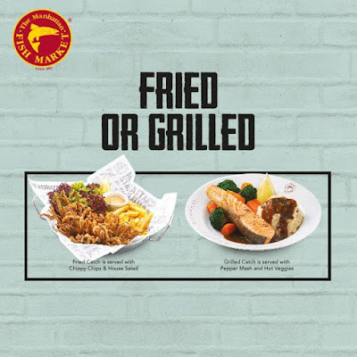 The Manhattan FISH MARKET Fried or Grilled Catch