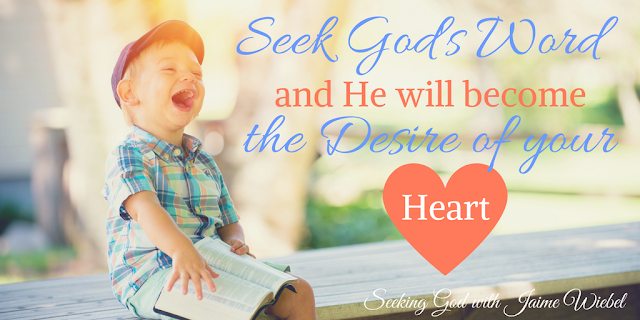 If we are finding the delight and joy of our lives in the Lord, He will give us our desires because our desires will be Him.