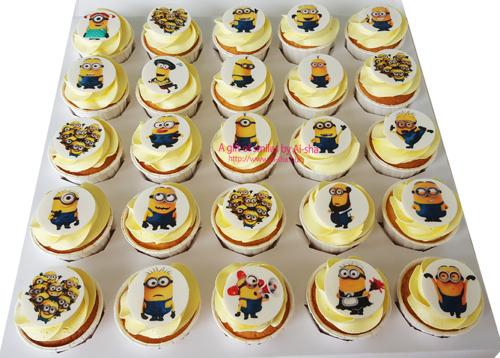 Birthday Cupcake MINIONS