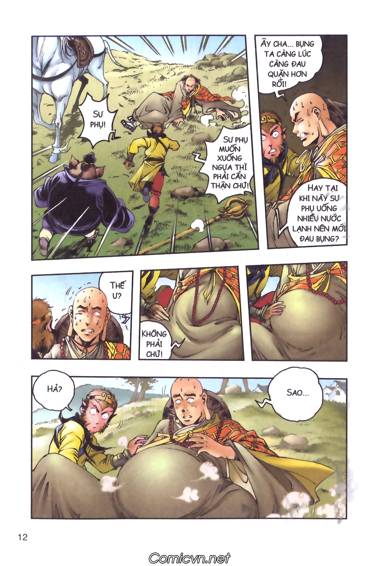 Tây Du Ký màu - Chapter 96 - Pic 10