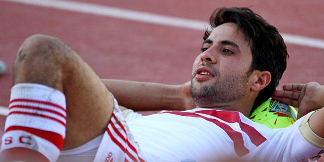 كما أكدنا أمس محمد ابراهيم يغيب عن مباراة الزمالك و كابس يونايتد