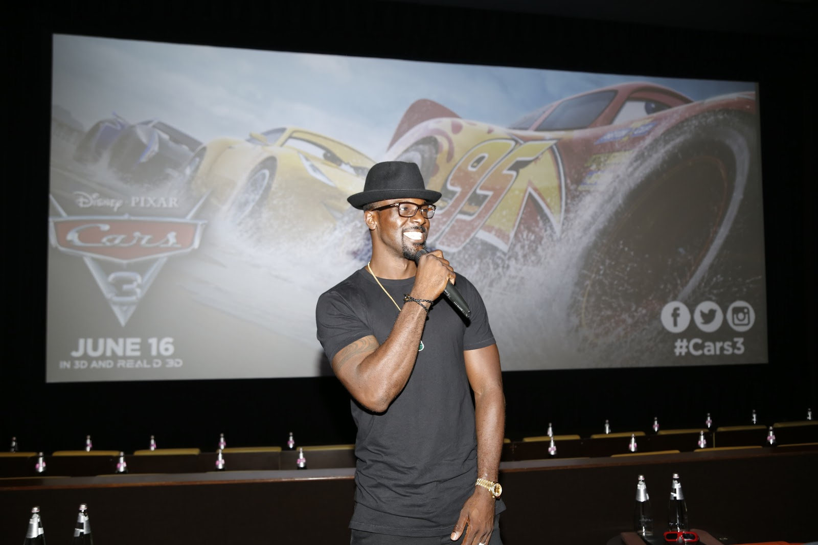Lance Gross host CARS 3 special VIP Screening: Review  via  www.productreviewmom.com