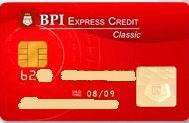 BPI Express Credit Classic Cards, BPI Credit cards