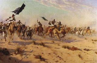 غدر الزمن : حرقة بنت النعمان و سعد بن ابي وقاص