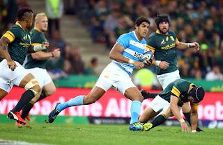 [UAR] Derrota en el debut del Rugby Championship