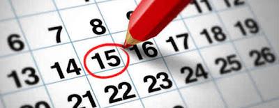 anota no seu calendário