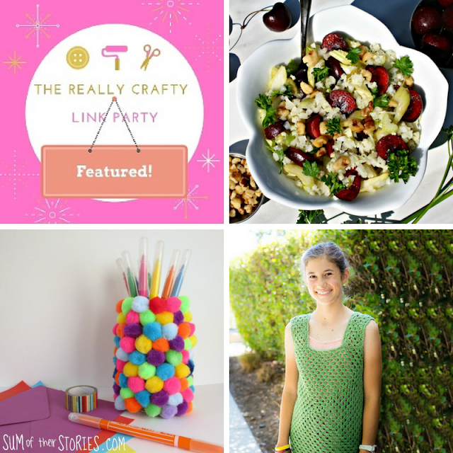The Really Crafty Link Party #81 featured posts