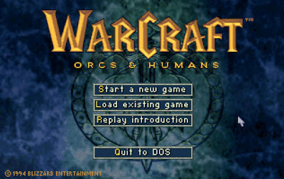 Warcraft 1 Game Screenshots 1994